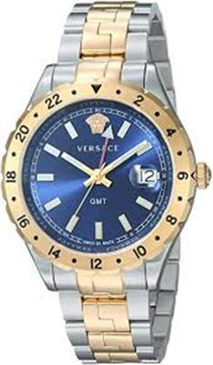 VERSACE HELLENYIUM GMT BLUE WATCH V11060017