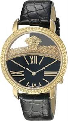 VERSACE KRIOS GOLD TONED STAINLESS STEEL VAS030016